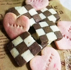 ハート クッキー ☆バレンタインにも♪