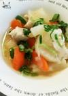 鶏と野菜の旨塩煮