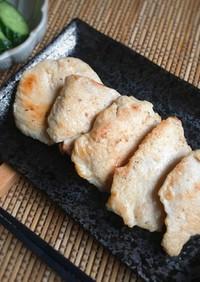 しっとり美味♡鶏むね肉の味噌漬け焼き