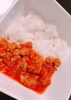 簡単!市販のルー不使用ひき肉トマトカレー
