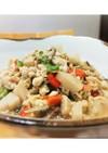 たっぷり野菜と豆腐と卵の鶏そぼろ煮