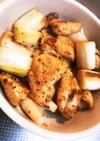 鶏胸のねぎ塩レモン焼き
