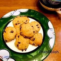 簡単卵不使用チョコココアドロップクッキー