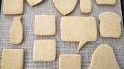 米粉のクッキー(アイシング用)の写真