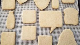 米粉のクッキー(アイシング用)