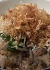 栄養満点 簡単 ちりめんご飯  (朝食)