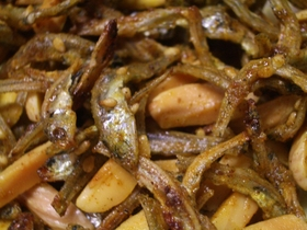 マヨカレー味アーモンドフィッシュ