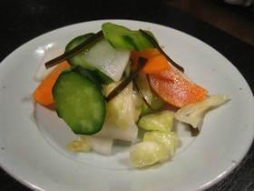野菜のお漬物