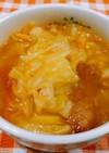 春キャベツのカレースープ