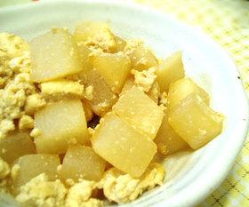 豆腐と大根のほろほろ煮
