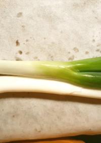 野菜の保存法(生姜、長葱 検証済み)