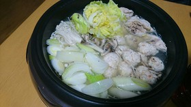 水炊き(覚え書き)
