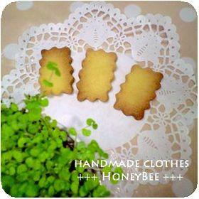 HoneyBee*定番アーモンドクッキー