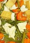 時短!厚揚げ、鶏肉、野菜の煮物