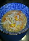 ラーメンスープで簡単スープ