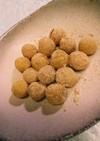 離乳食✨きな粉香る焼き芋のお団子さん✨