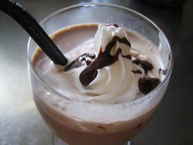 カフェ風アイスココア