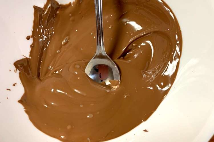 溶かし 方 チョコ