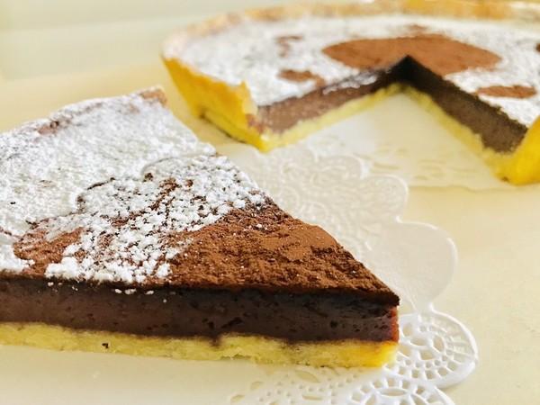 なめらかチョコタルト・簡単チョコケーキ