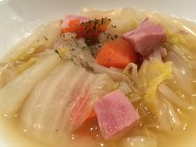 野菜たっぷり♡食べるコンソメスープ