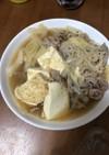 簡単節約!豆腐もちっと♪うまーい肉豆腐!