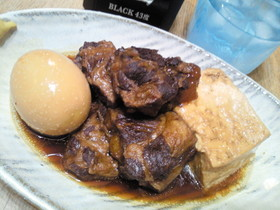 豚軟骨ソーキの肉豆腐