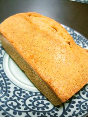 全粒粉で超簡単パウンドケーキ