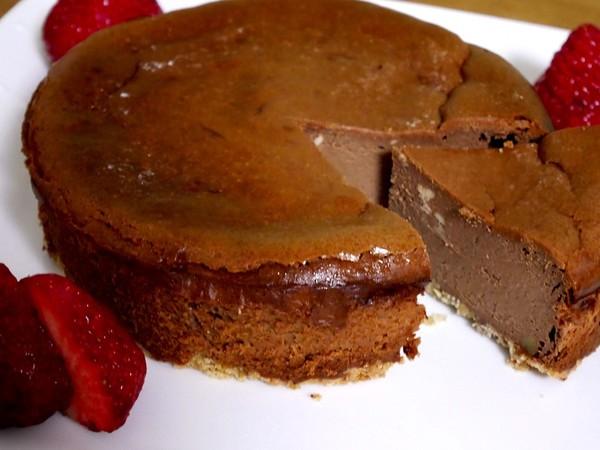 かんたん★大人のチョコチーズケーキ