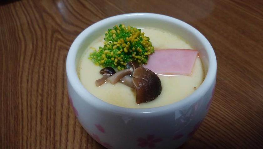 サッポロ一番塩味レンチン茶碗蒸し