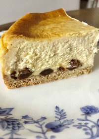 チーズケーキ〜ラムレーズン入り