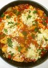 鶏むね肉のカレートマト煮♪簡単カレー粉