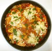 鶏むね肉のカレートマト煮♪簡単カレー粉の写真
