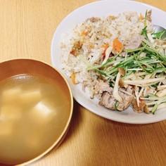 柚子胡椒仕立ての炊き込みご飯