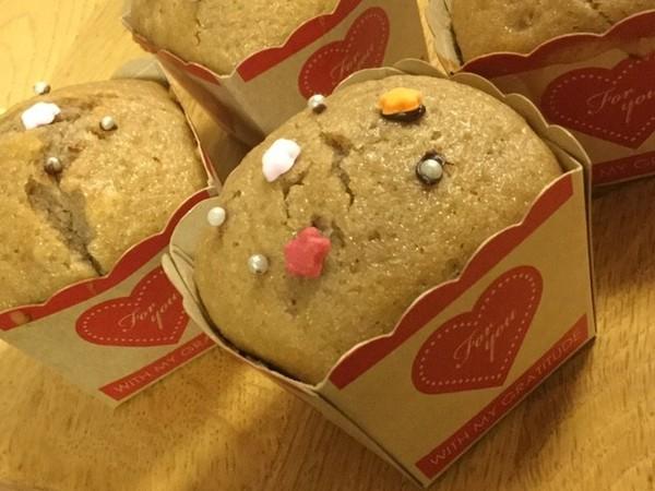 HMで簡単混ぜるだけのカップケーキ☆
