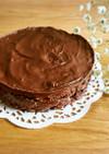オーブンなし♡フルグラチョコレートケーキ