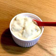 クリームチーズとホワイトチョコのクリーム