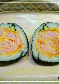 【飾り巻き寿司】バラ