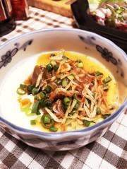 台湾の朝ごはん風!温豆腐の写真