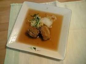 角煮&野菜