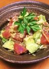 ハワイ★アヒポキ風サラダ