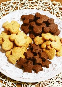 簡単!HMで混ぜるだけ大量型抜きクッキー