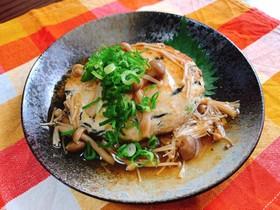 ■鶏の豆腐ハンバーグ和風きのこあんかけ■