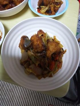 簡単黒酢鶏
