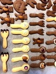 型抜きクッキー 基本簡単スプーンクッキーの写真