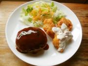 ハンバーグ&チキン南蛮のコンビ♫の写真
