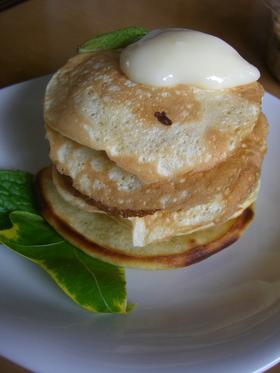 サクラ酵母でパンケーキ