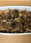 常備菜 鯖缶のきのこ炒め煮レシピ