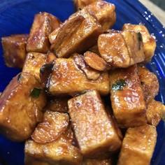 揚げ豆腐の照りマヨソテー