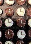 バレンタインに!簡単!時計型チョコ☆