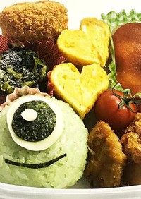 モンスターズインク☆マイクのお弁当